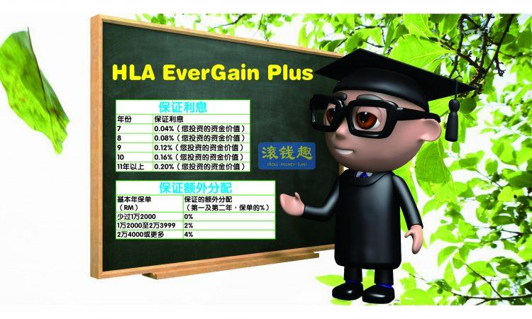 Guaranteed Features of HLA EverGain Plus